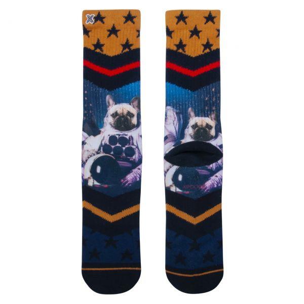 XPOOOS Socken Astrohund