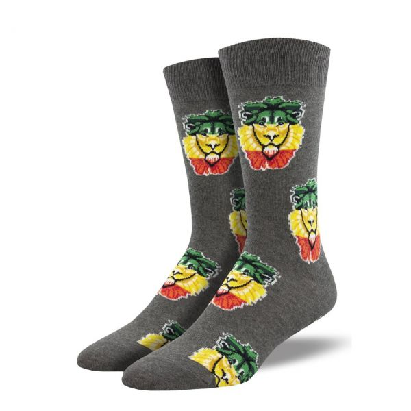 Socksmith Socken Rastalöwe grau