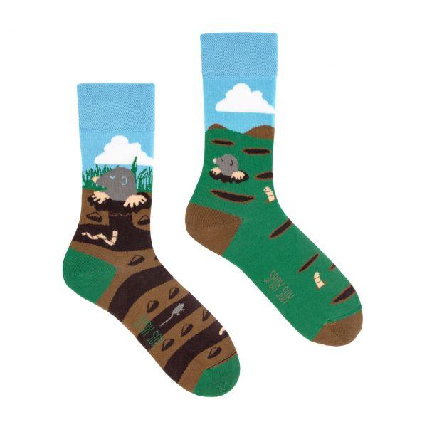 Spox Sox Socken Maulwurf