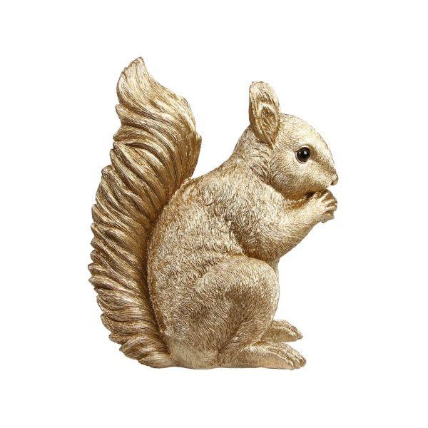 Spardose Eichhörnchen gold von &klevering Seite