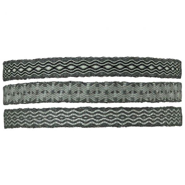 LeJu Armband MT80 3er Set grau