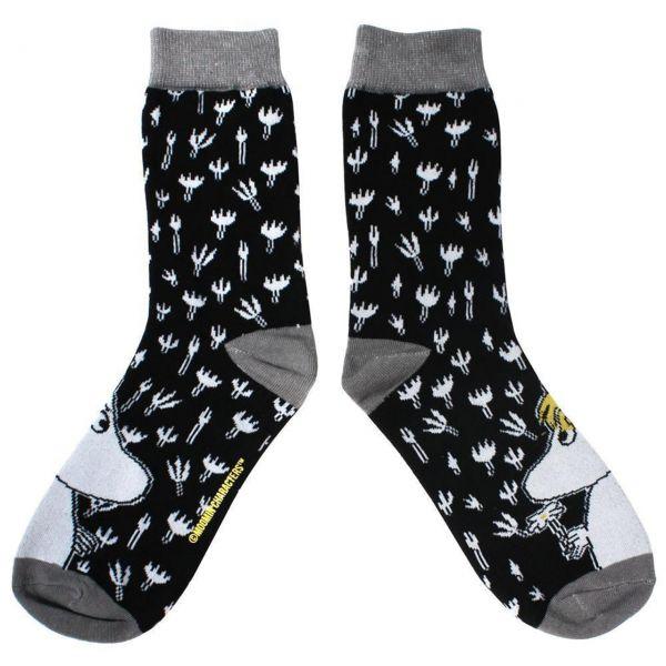 Mumins Socken schwarz