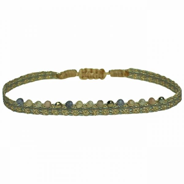 LeJu Armband MT 40 Chic 03 oliv / grau