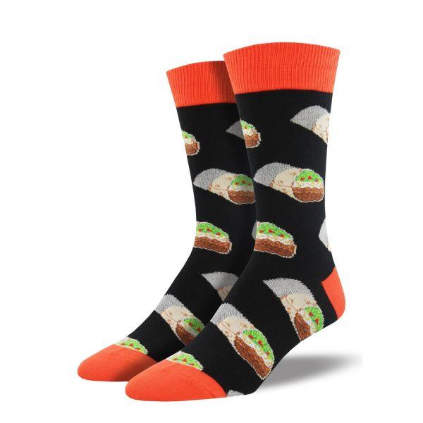 Socksmith Socken Burrito schwarz