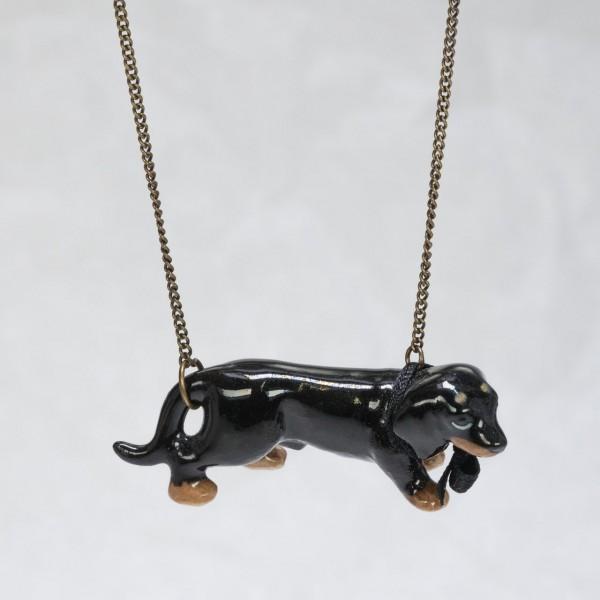Halskette Dackel von AndMary