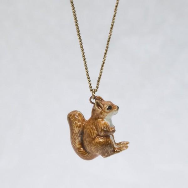 Halskette Eichhörnchen von AndMary