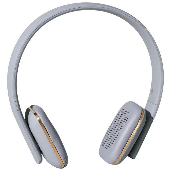 Kreafunk Kopfhörer aHead grau front