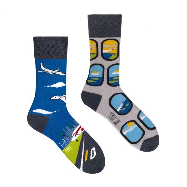 Spox Sox Socken Flugzeuge