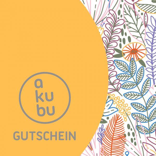 Akubu Gutschein 50 Motiv