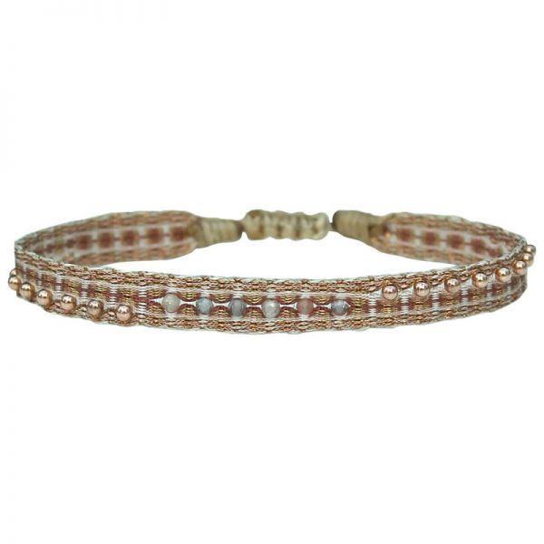 LeJu Armband  MT Majestic 02   vergoldet / lachs