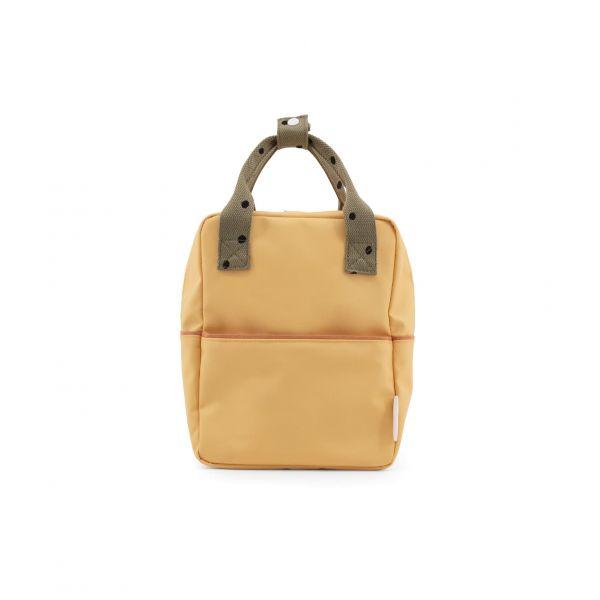 Sticky Lemon Kinder-Rucksack freckles gelb front