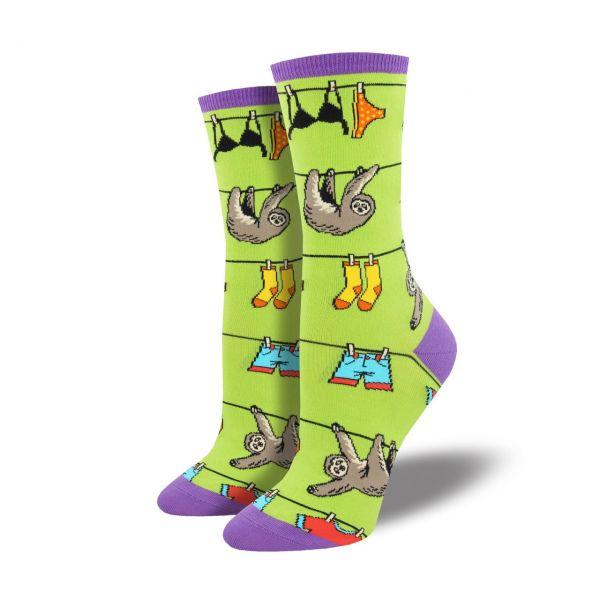 Socksmith Socken Faultier grün