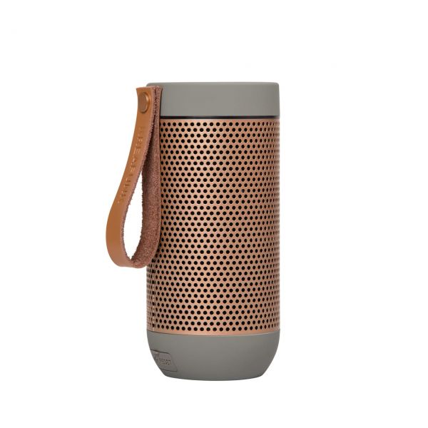 Kreafunk Bluetooth-Speaker aFunk cool grey Seite