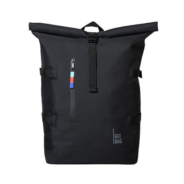 GOT BAG Rolltop schwarz front