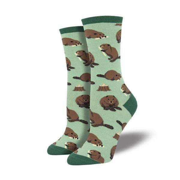 Socksmith Socken Biber grün