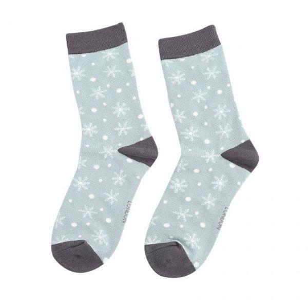 Miss Sparrow Socken Schneeflocken