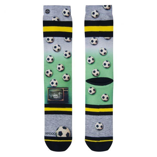 XPOOOS Socken Fussball