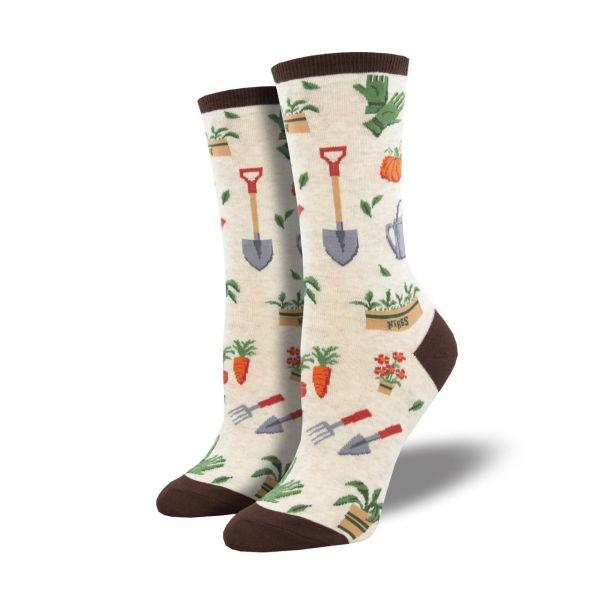 Socksmith Socken Gartenfreude weiss