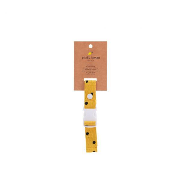 Sticky Lemon Haltegurt freckles gelb