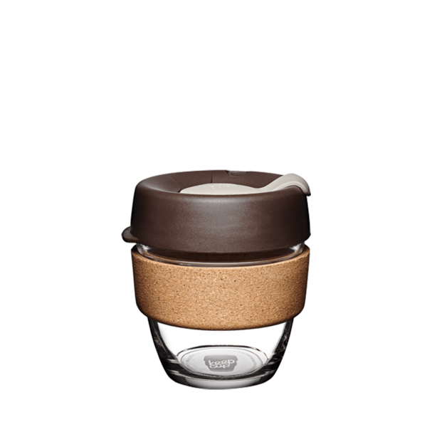 KeepCup Cork S braun