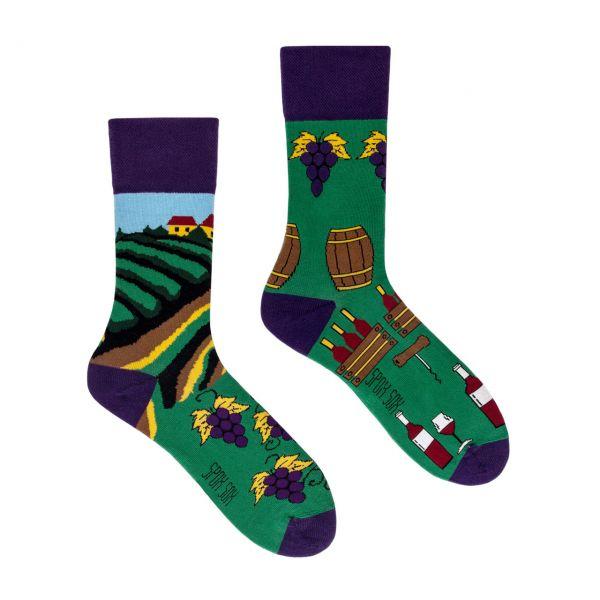 Spox Sox Socken Weingut