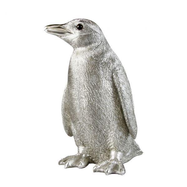 Spardose Pinguin silber von &klevering