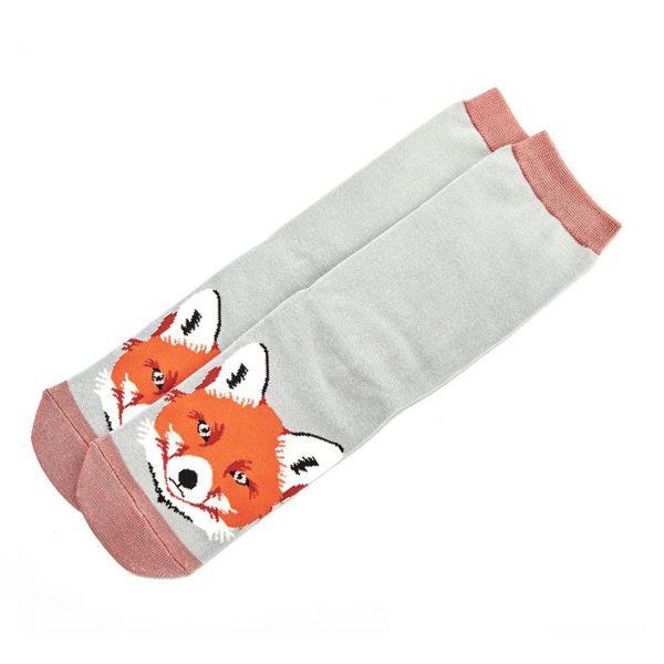 Miss Sparrow Socken Fuchskopf