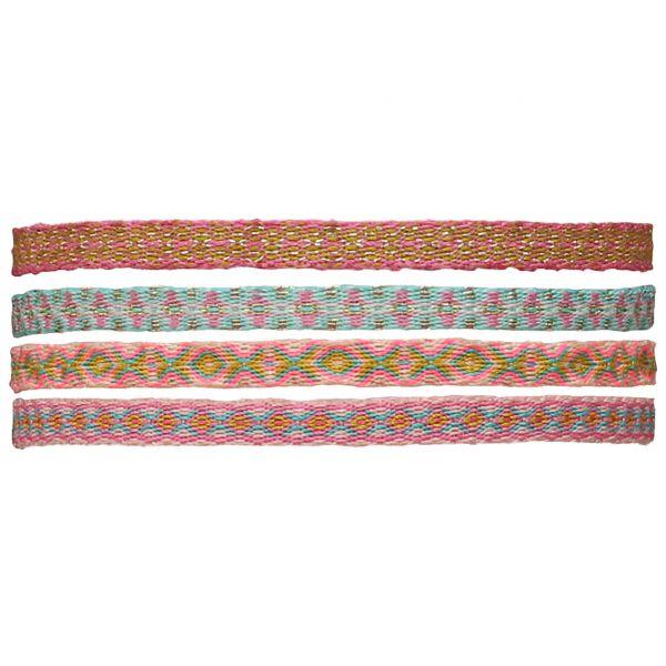 LeJu Armband MT40 4er-Set rosa