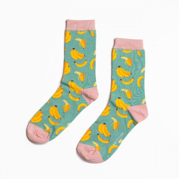 Miss Sparrow Socken Bananen