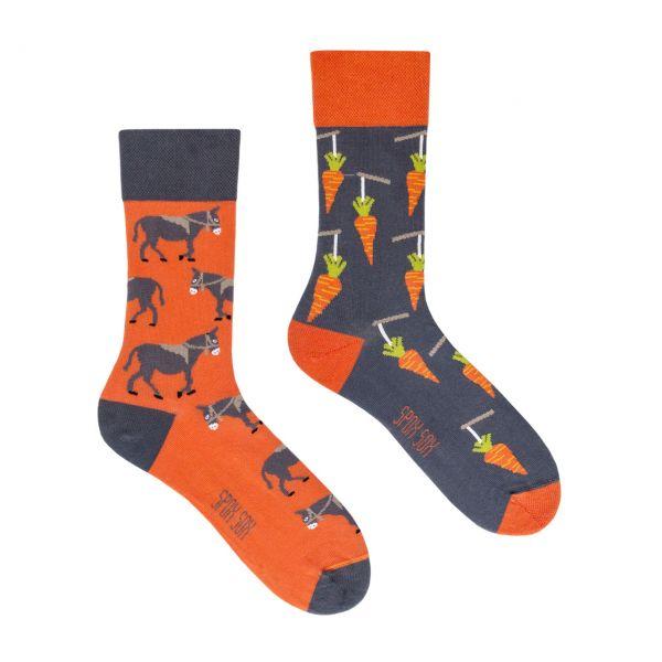 Spox Sox Socken Esel + Karotten