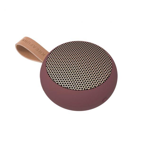 Kreafunk Bluetooth-Speaker aGo plum
