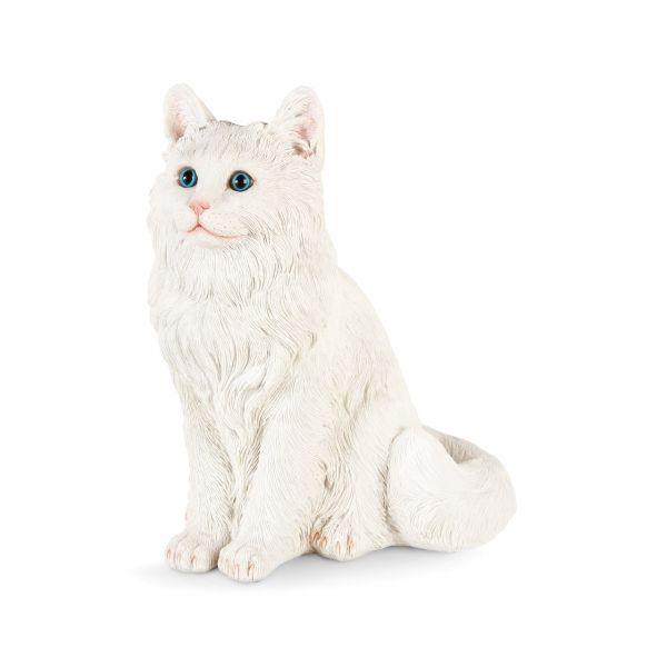 &klevering Spardose Katze weiss