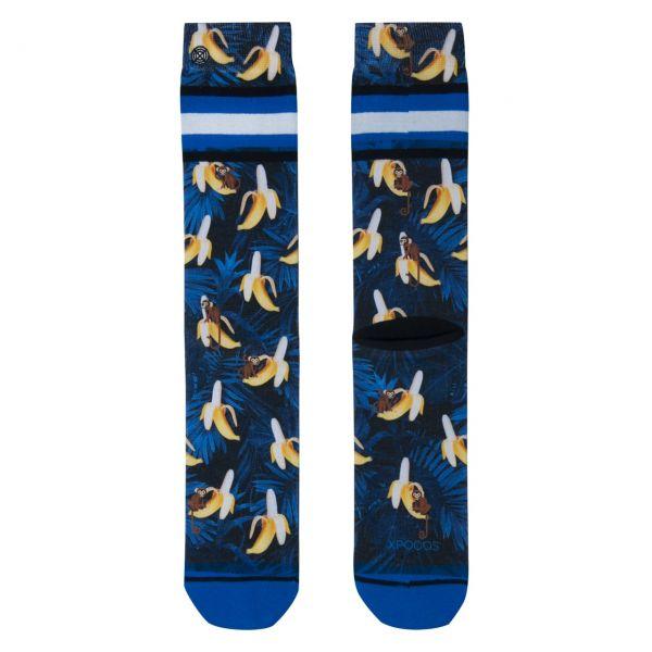 XPOOOS Socken Bananen