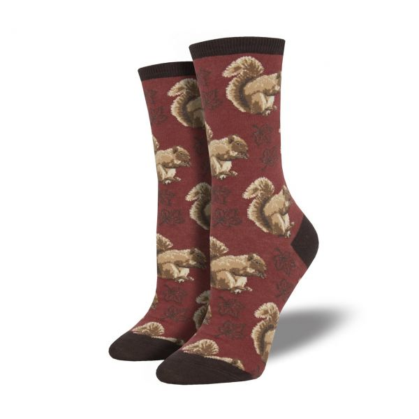 Socksmith Socken Eichhörnchen rot