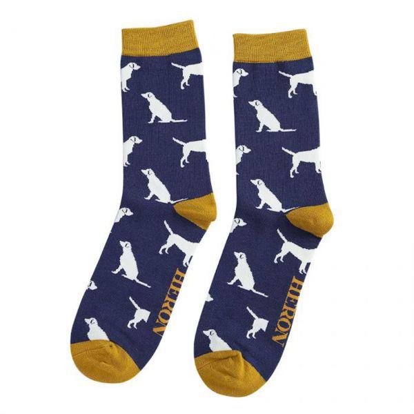Mr. Heron Socken Labrador navy