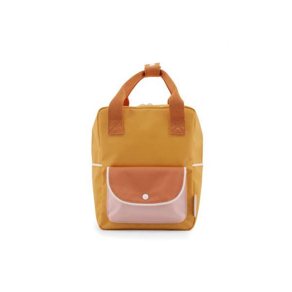 Sticky Lemon Kinder-Rucksack wanderer gelb front