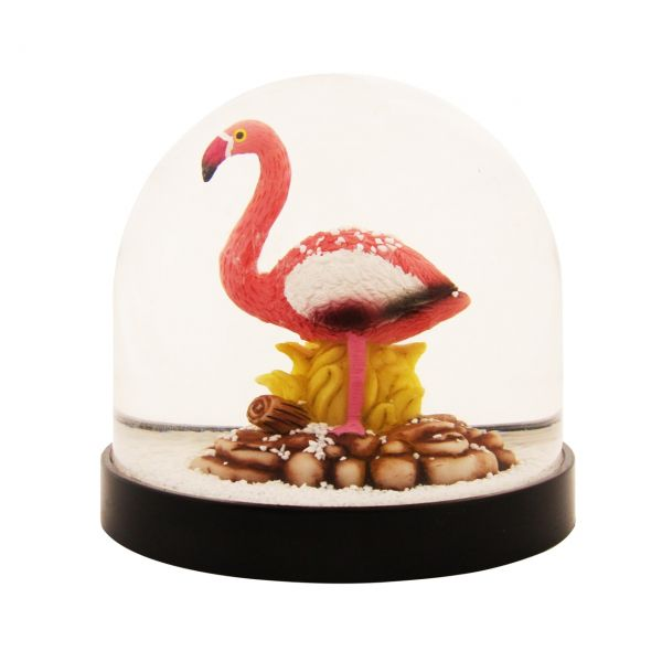 Schneekugel Flamingo von &klevering