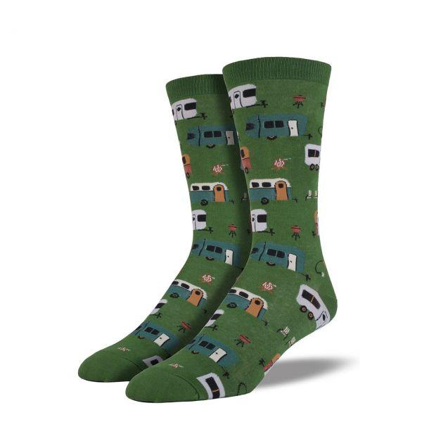 Socksmith Socken Camping grün