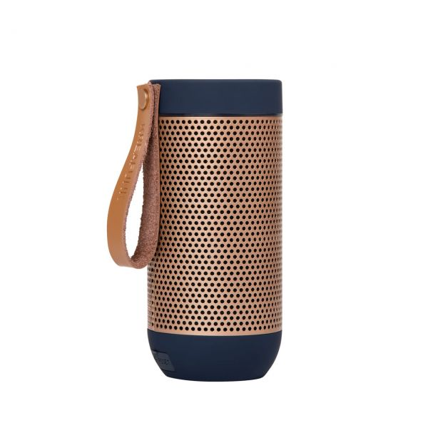 Kreafunk Bluetooth-Speaker aFunk blau Seite