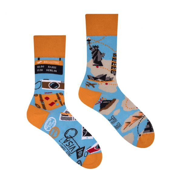 Spox Sox Socken Weltreise