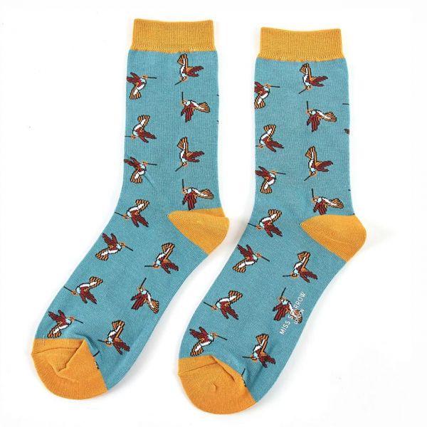 Miss Sparrow Socken Kolibris