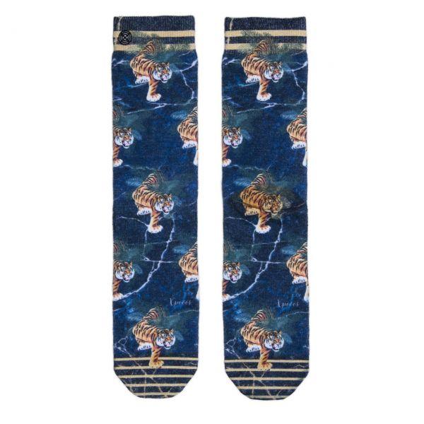 XPOOOS Socken Tiger