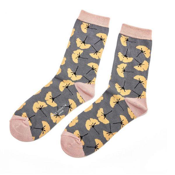 Miss Sparrow Socken Gingko