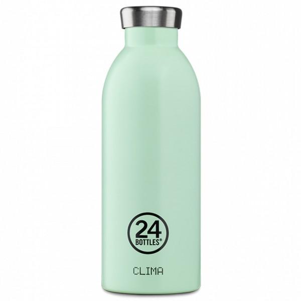 24bottles Clima 0,5l Aqua Gruen front