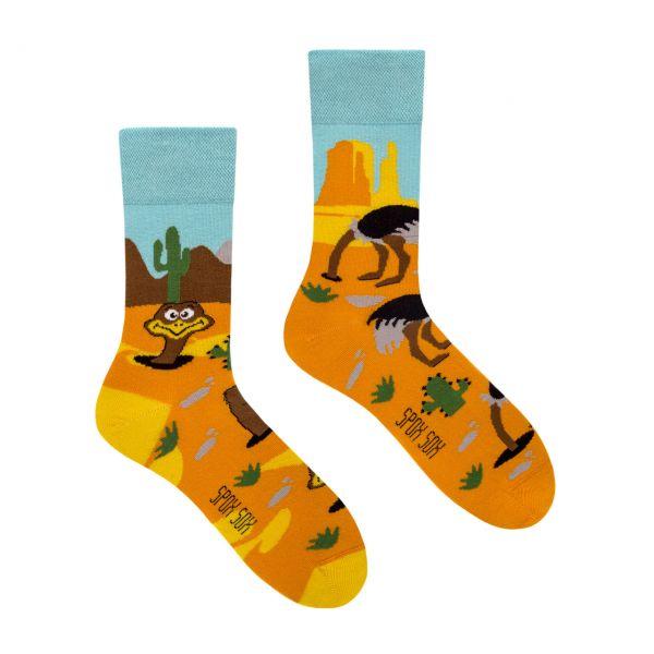 Spox Sox Socken Vogel Strauss