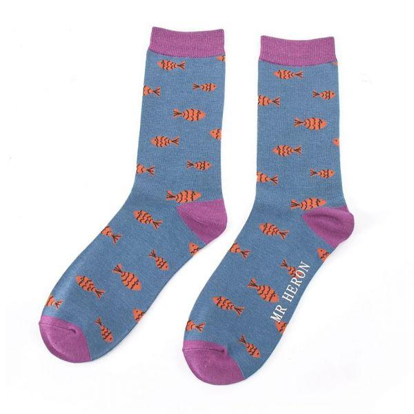 Mr. Heron Socken Fische