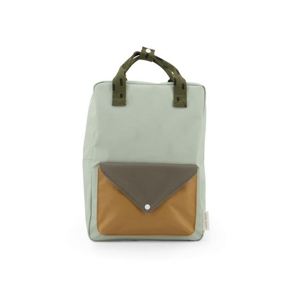 Sticky Lemon Rucksack envelope sage green