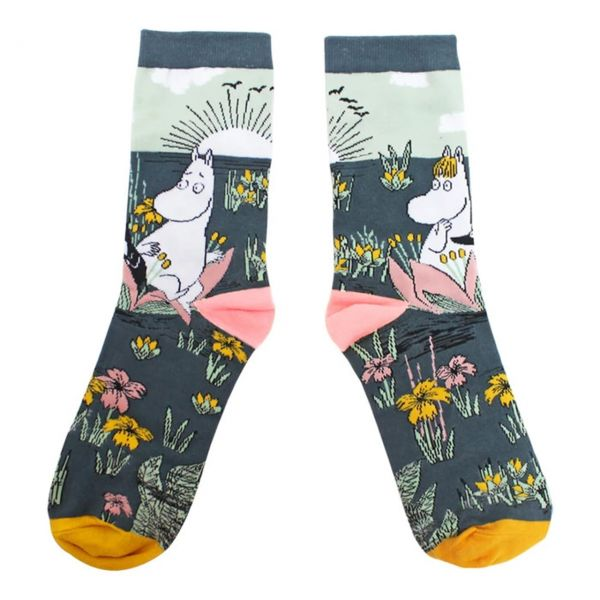 Mumins Socken Lotus