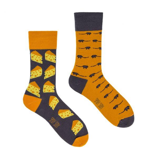 Spox Sox Socken Käse + Mäuse