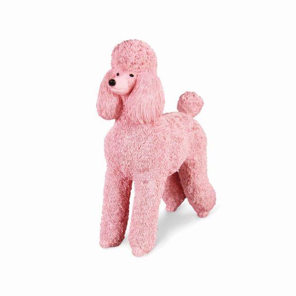 &klevering Spardose Pudel pink front